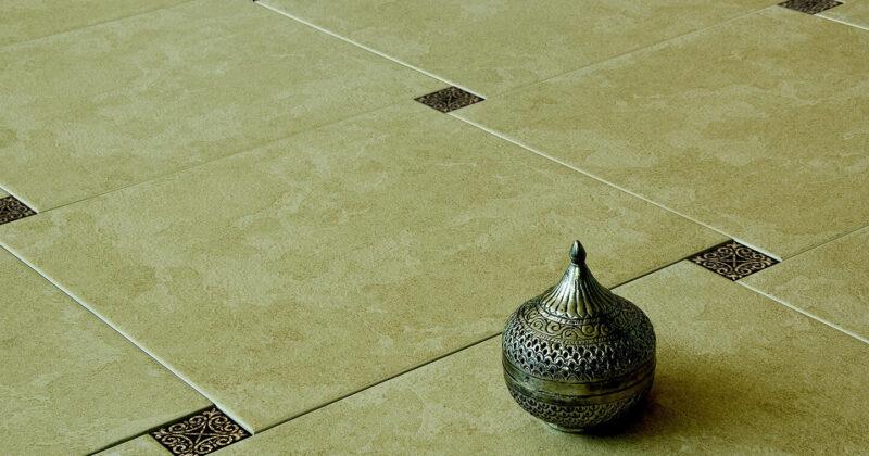 Розрахунок кількості вставок для плитки в підлогу