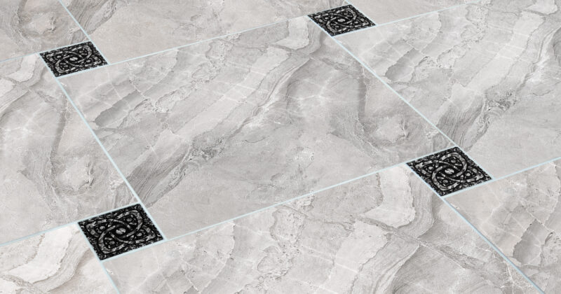Варіанти кладки скляних вставок в підлогу