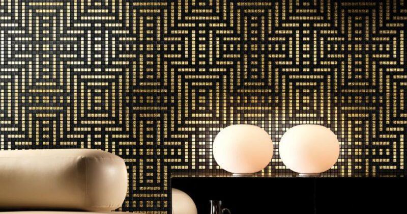 Варіанти облицювання мозаїкою